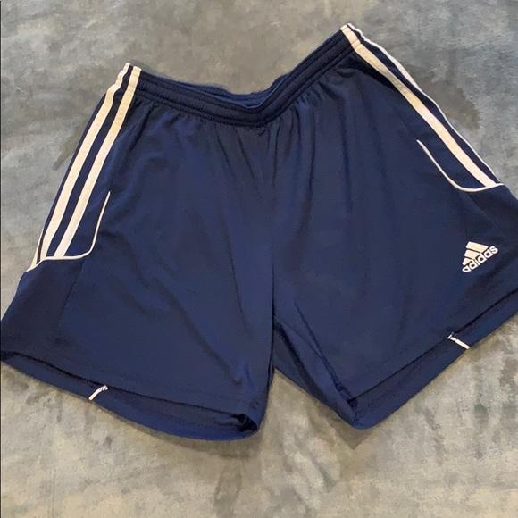 adidas shorts navy